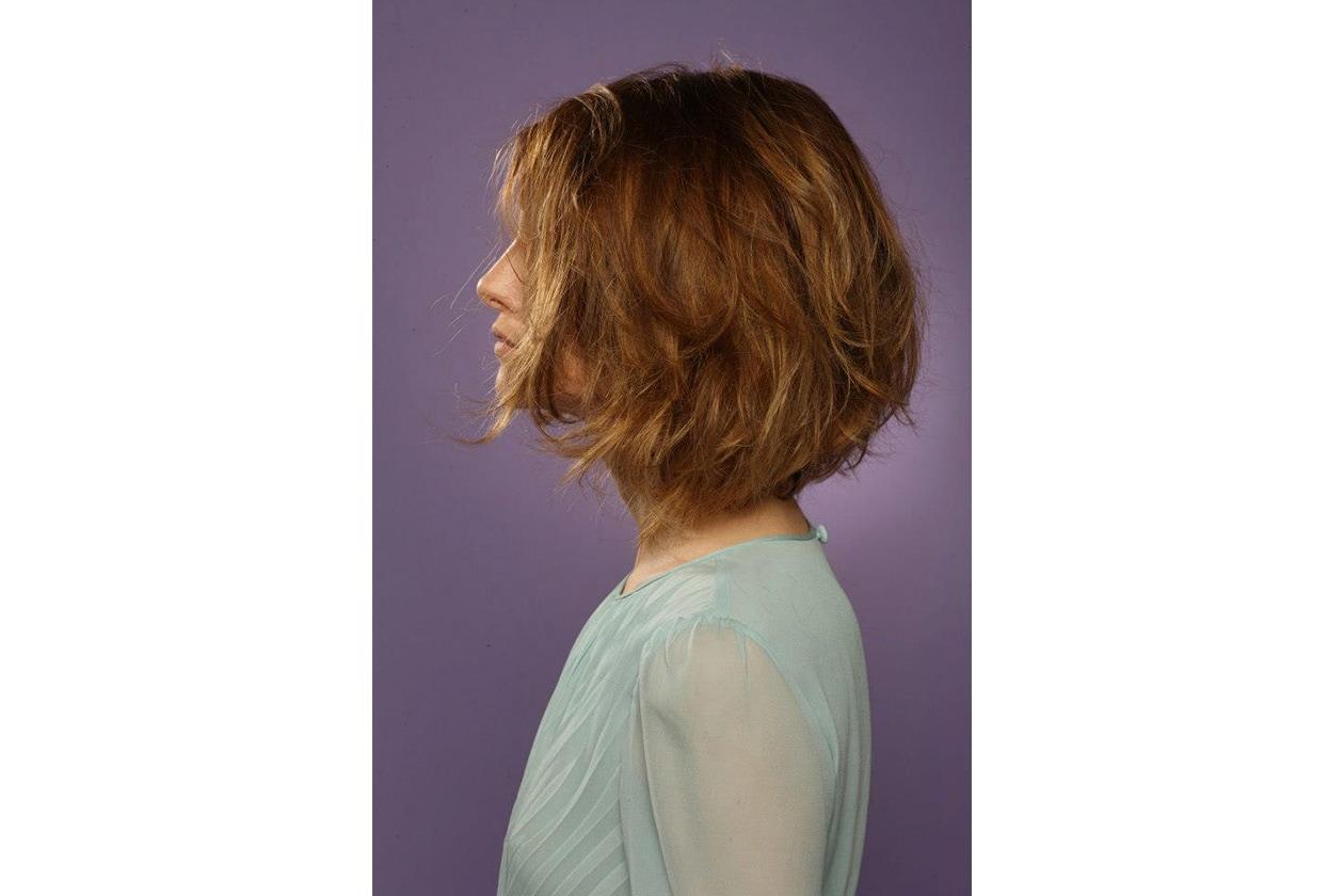 Per questa stagione primavera estate 2013 il capello medio lungo è rigorosamente mosso (Aldo Coppola)