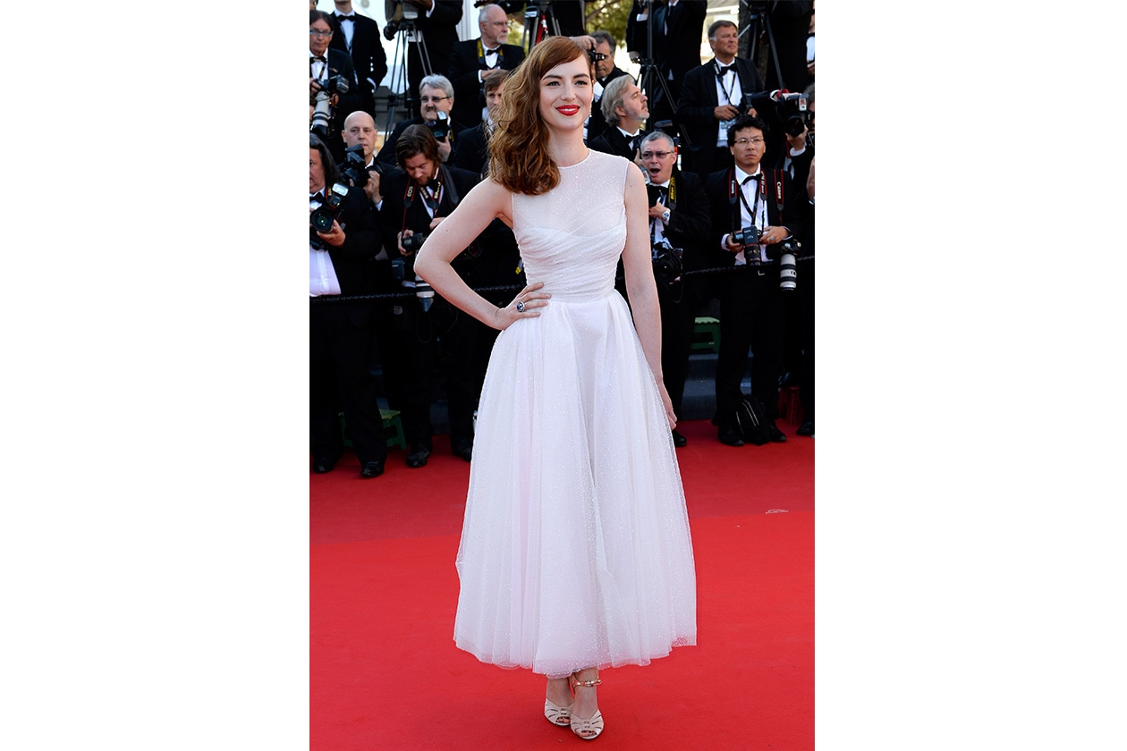 Sposa Star in bianco Louise Bourgoin