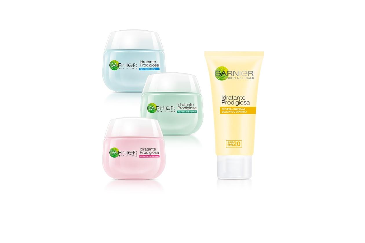 Una idratazione prodigiosa con le quattro nuove creme di Garnier, create per soddisfare tutti i tipi diversi di pelle