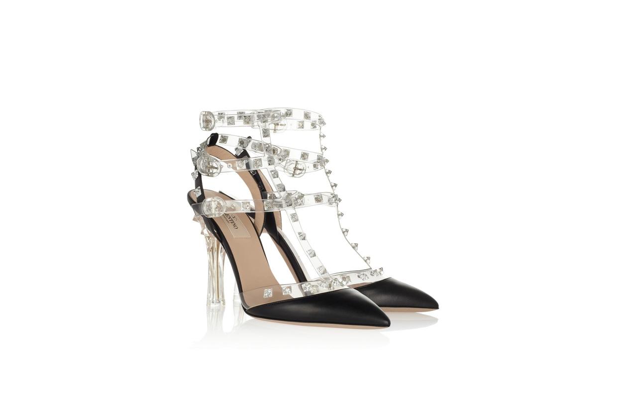 02 sporty sandali Valentino borchie plexi