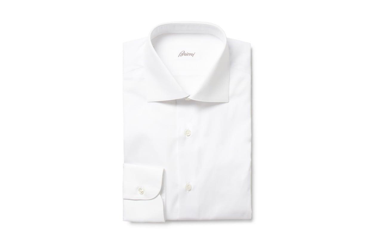 01 camicia bianca brioni