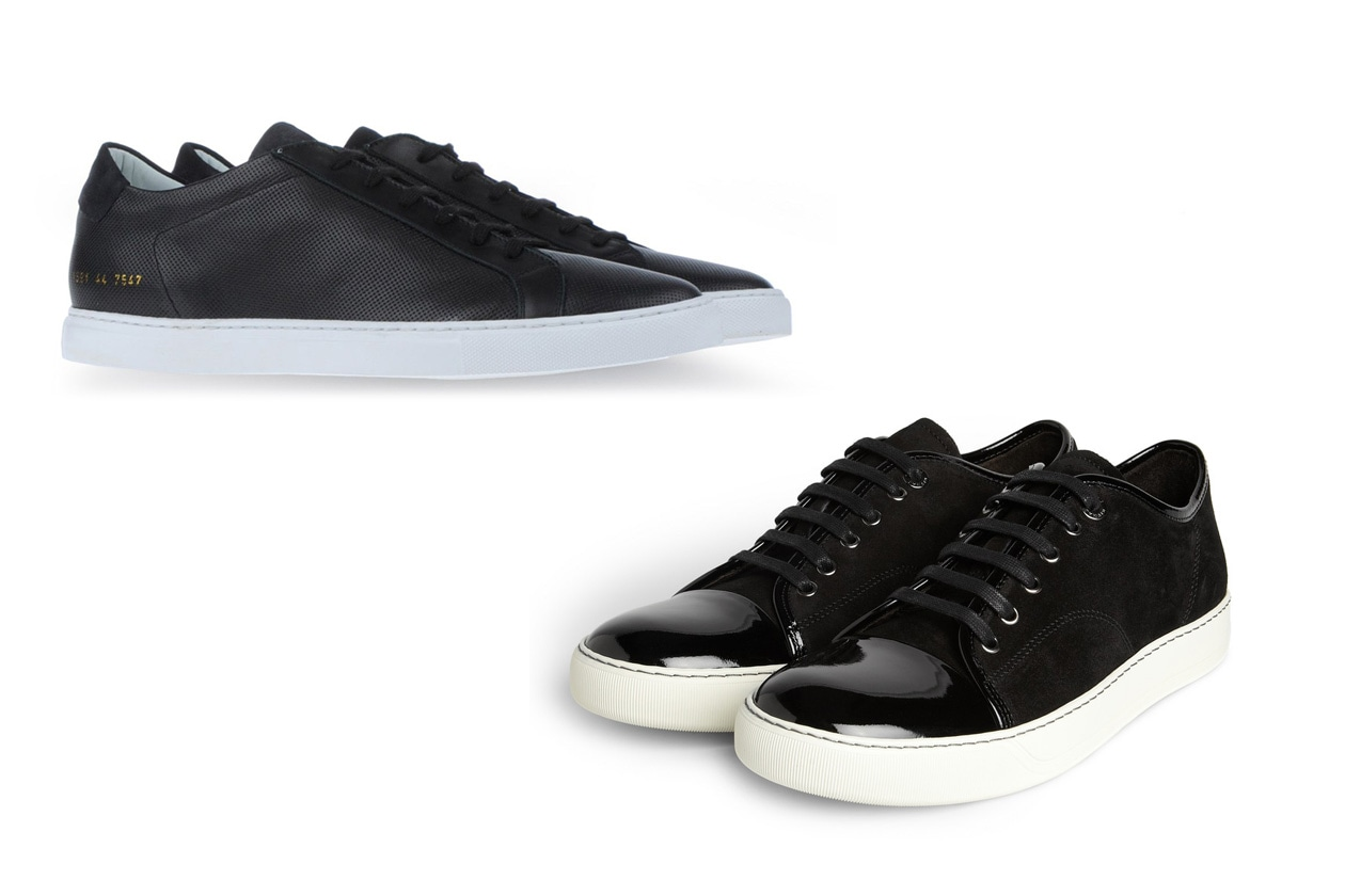 04 sneaker vernice lanvin common projects