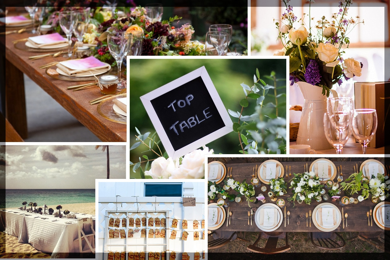 Matrimonio: le regole da seguire per l'organizzazione dei tavoli