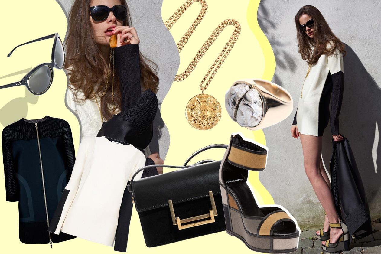 Shopping con Charlotte: graphic look da sfogliare e acquistare