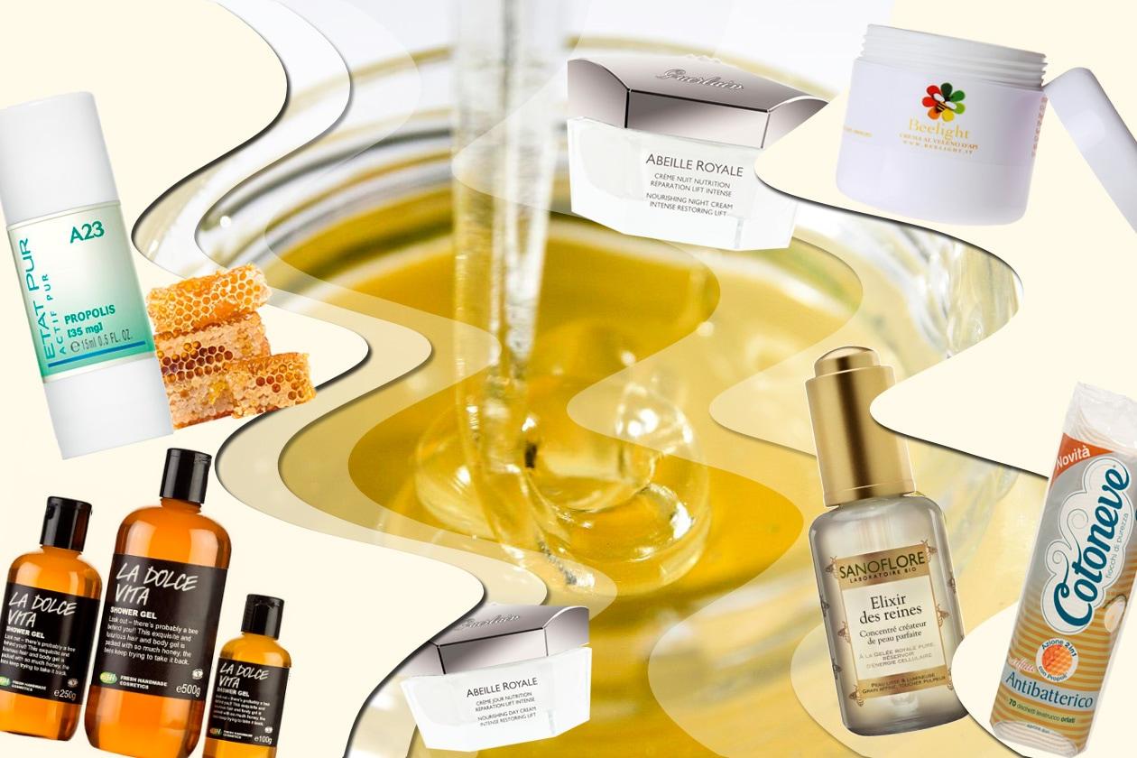 Miele, Propoli e Pappa Reale: i prodotti di bellezza per viso e corpo