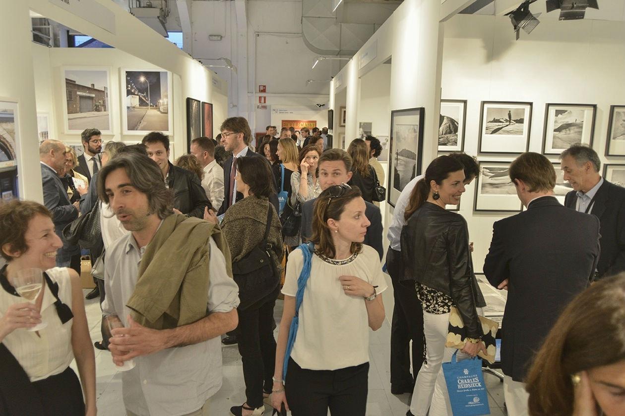 inaugurazione; Mia; milan image art fair; fotografia; fiera