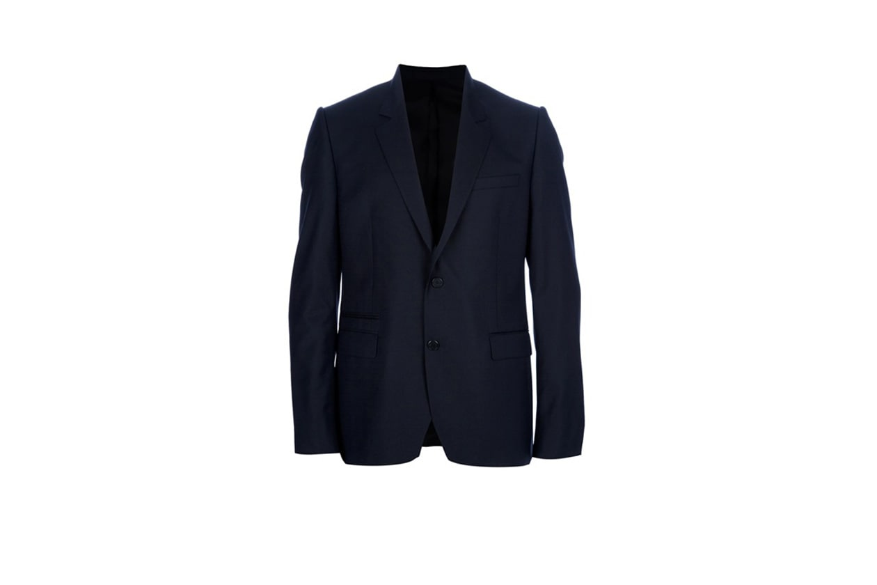 Fashion Get the look Johannes Huebl Easy formal blazer blu givenchy