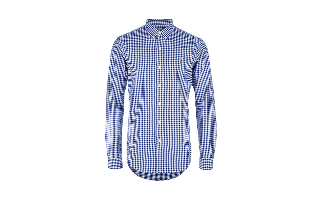 Fashion Get the look Johannes Huebl Pull camicia polo by ralph lauren