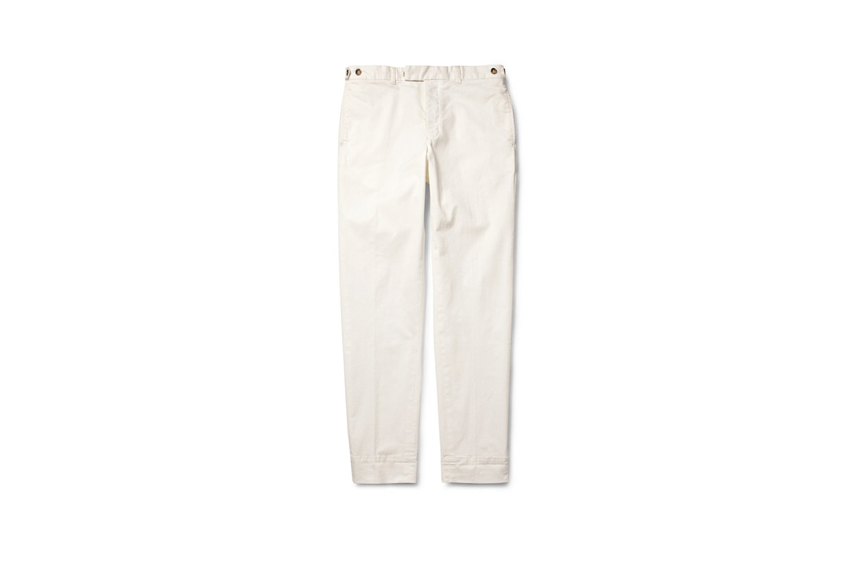 Fashion Get the look Johannes Huebl Pull chino beams plus