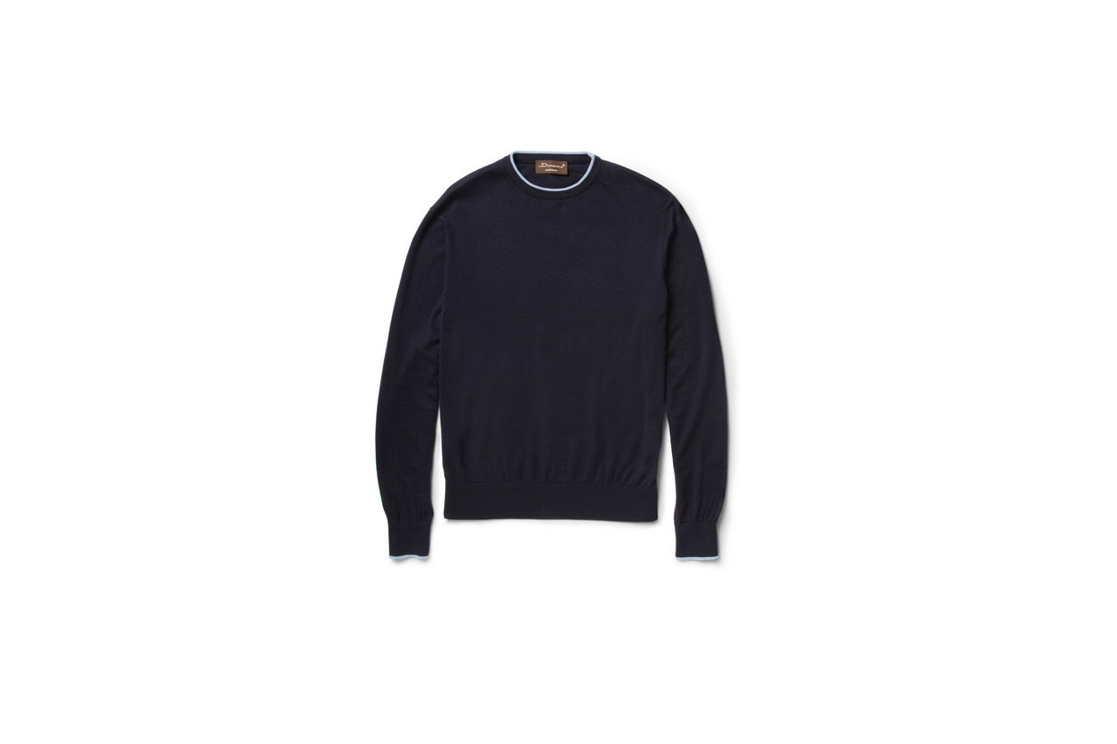 Fashion Get the look Johannes Huebl Pull pull cashmere doriani