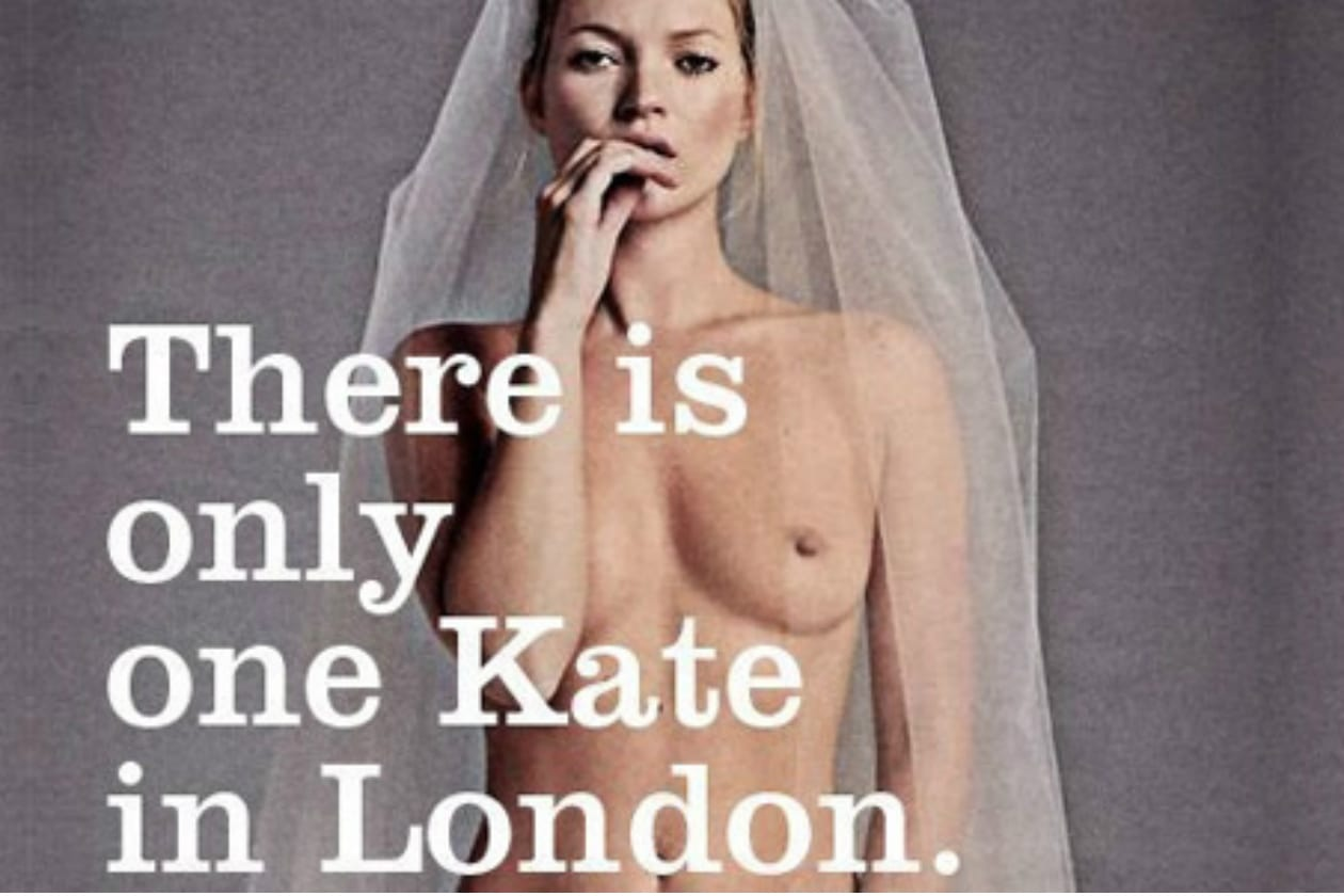 kate moss only one kate london