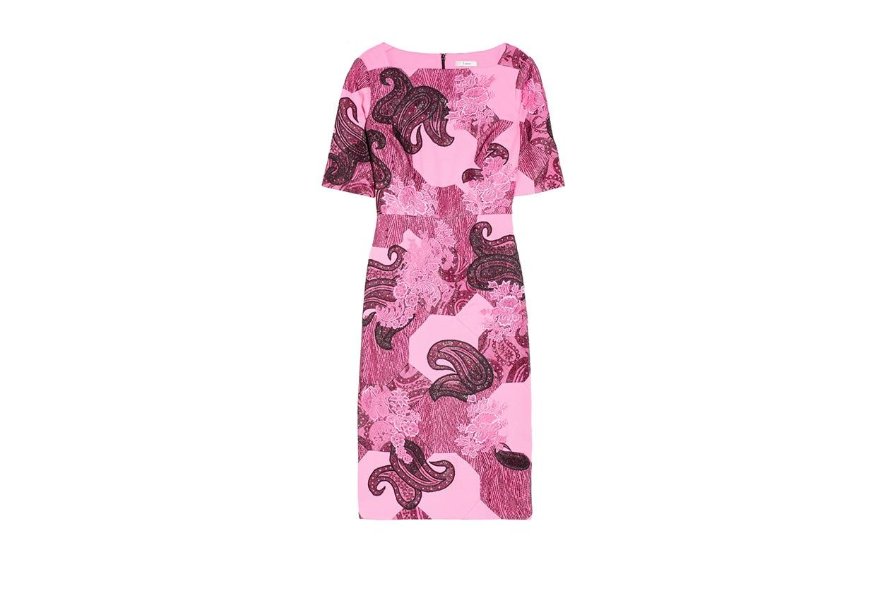 Fashion Top List Lace abito pizzo erdem rosa
