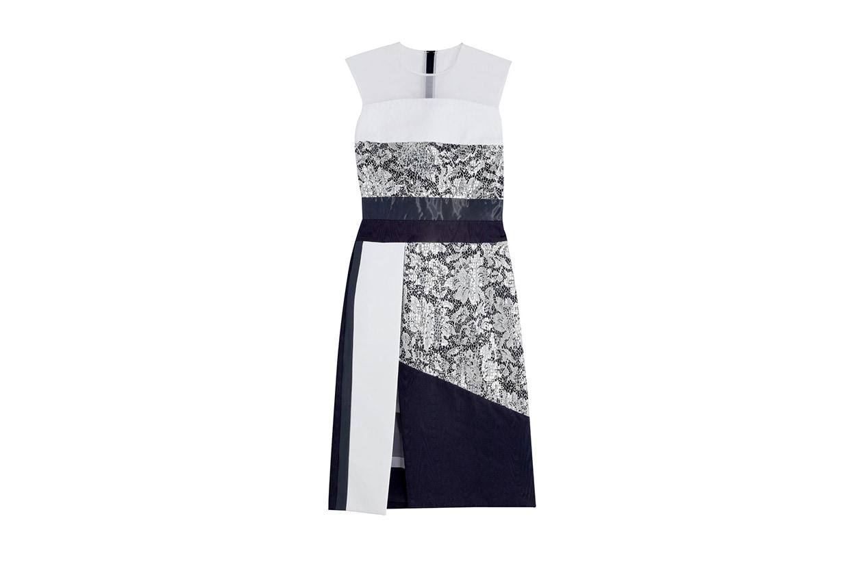 Fashion Top List Lace Abito pizzo preen
