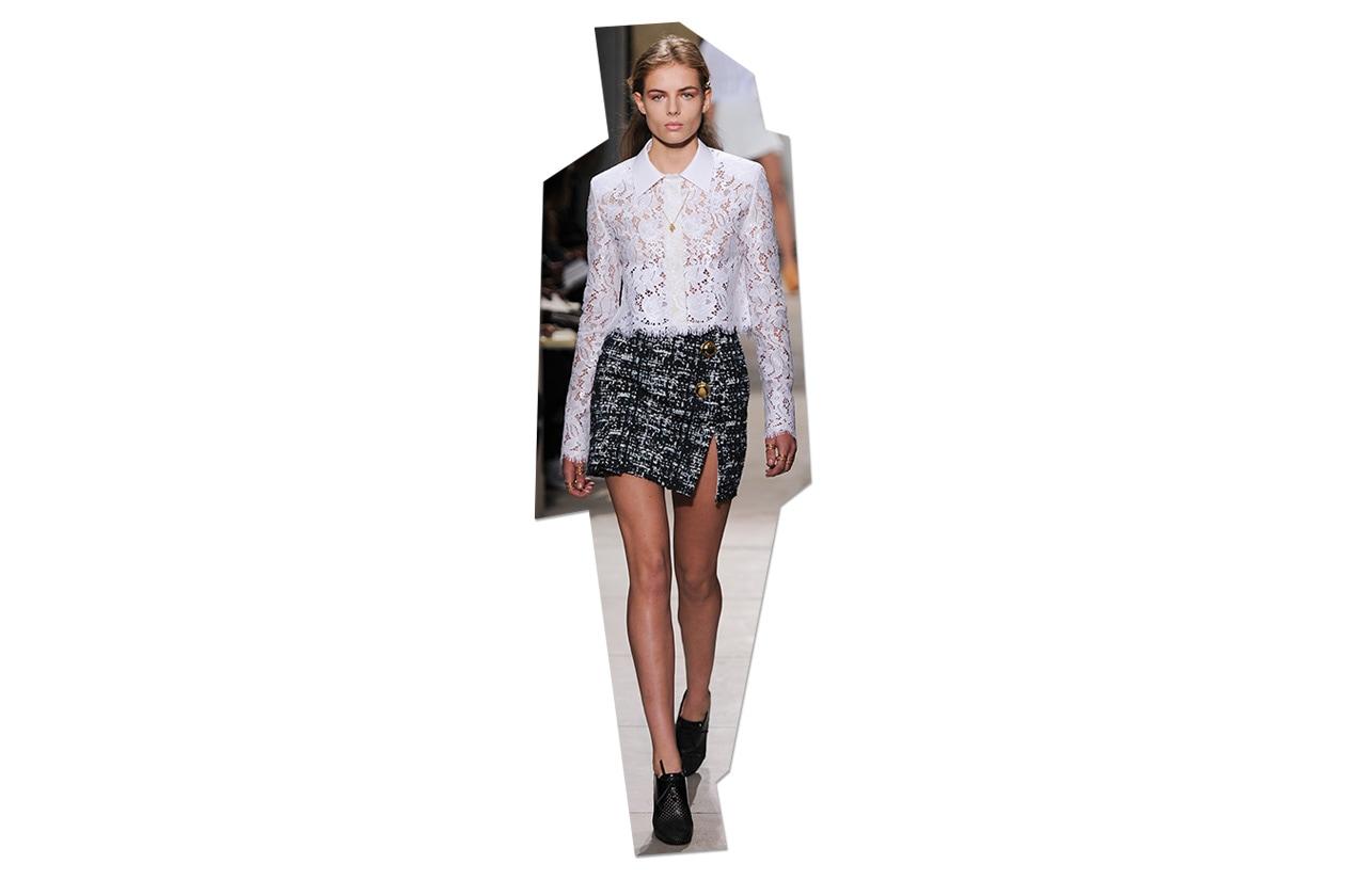 Fashion Top List Lace Balenciaga ful S13