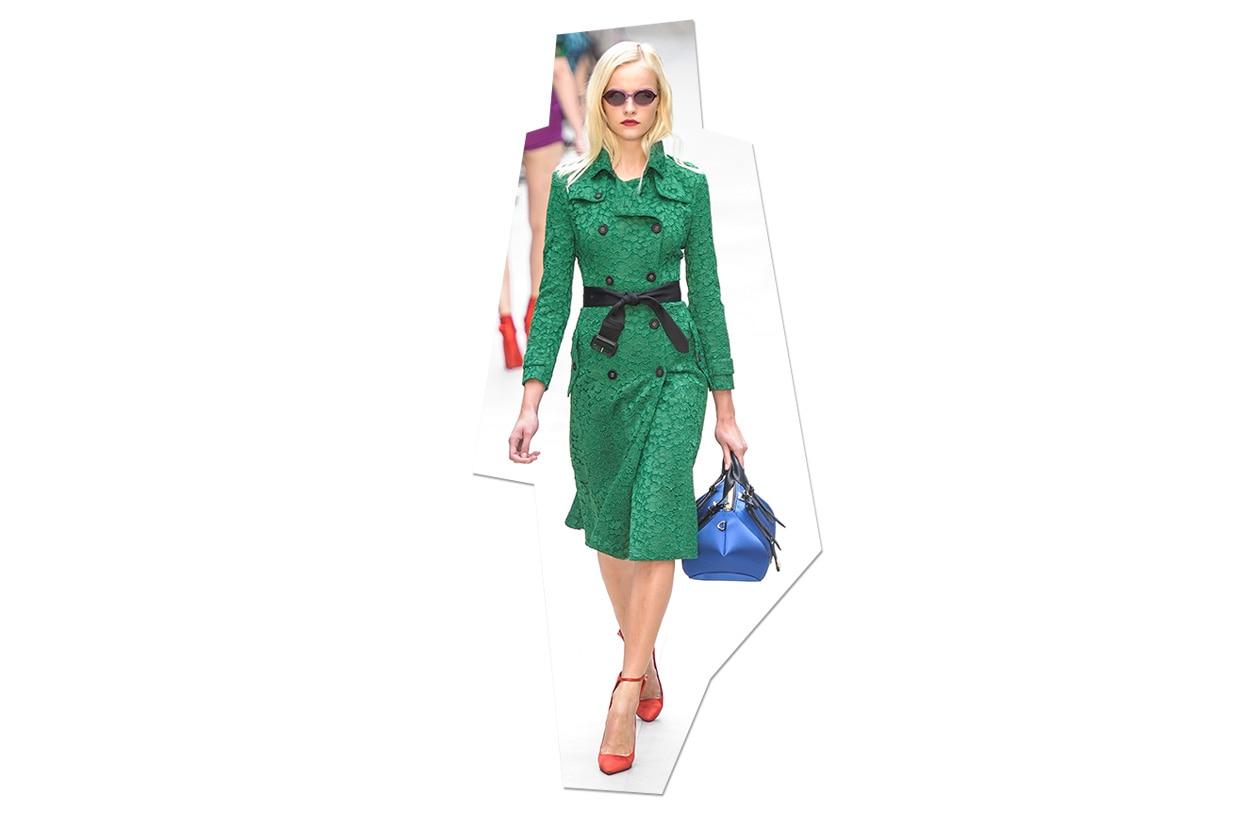 Fashion Top List Lace Burberry Prorsum ful S13