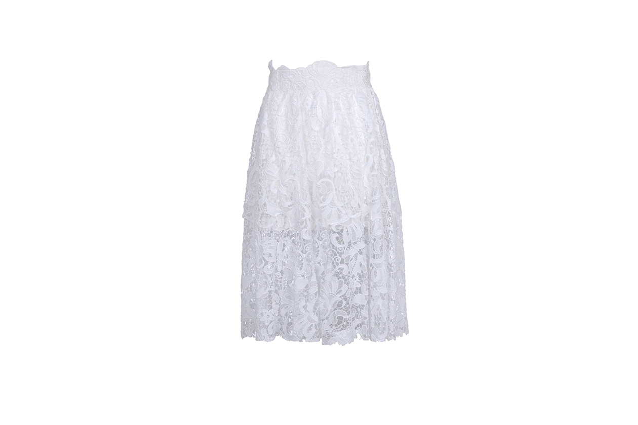 Fashion Top List Lace gonna pizzo ermanno scervino