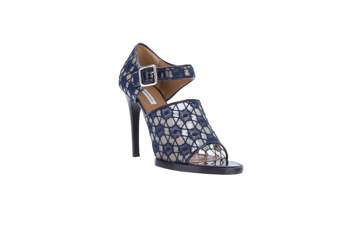 Fashion Top List Lace sandalo carven pizzo