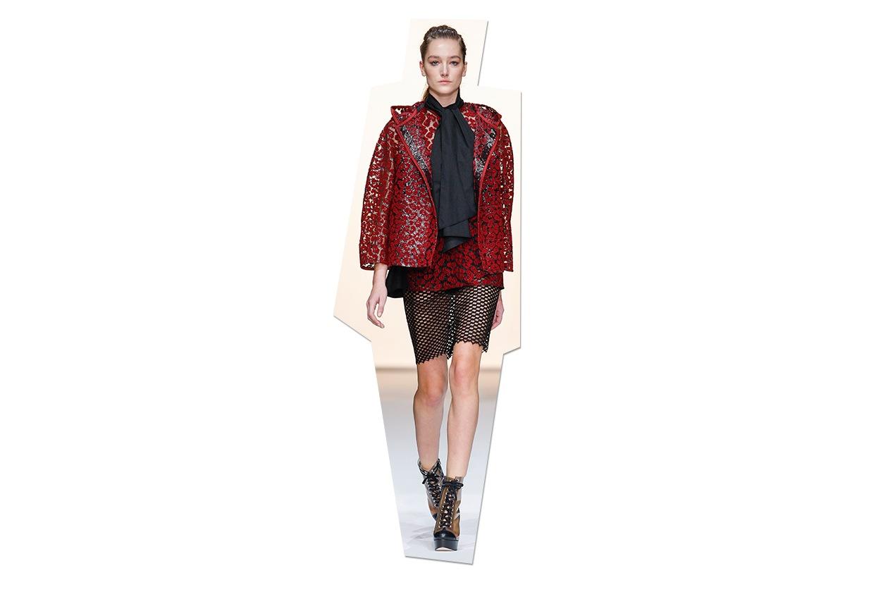 Fashion Top List Lace Veronique Leroy ful S13