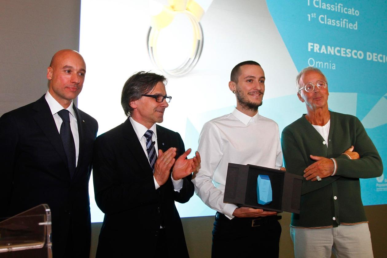 Francesco Decio vincitore Jewellery Talent Contest