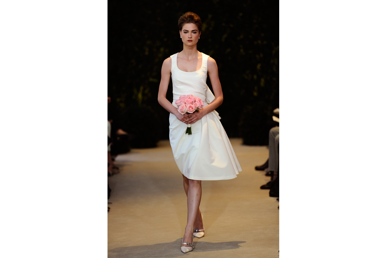1a4751d191c9 Carolina Herrera Collezione Bridal 2014 - Grazia.it