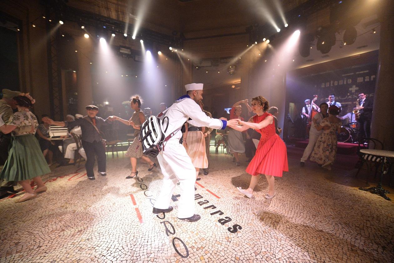 Ballando con Piquadro e Antonio Marras