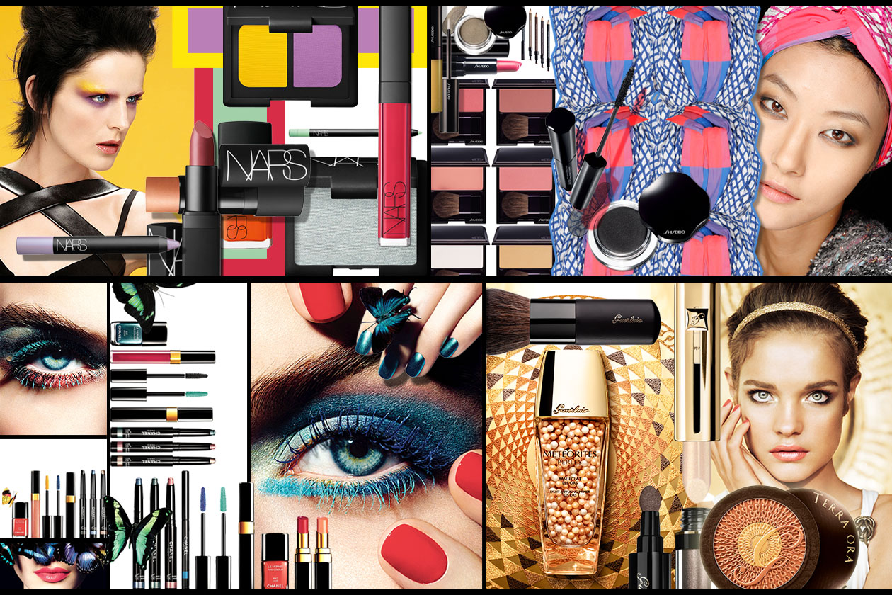 Beauty Summer make up collections 00 Cover Collage