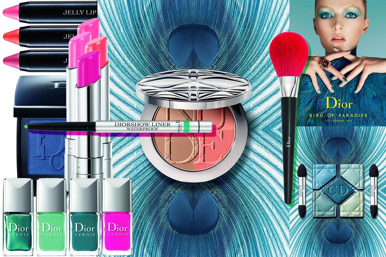 Beauty Summer make up collections Dior Summer 2013