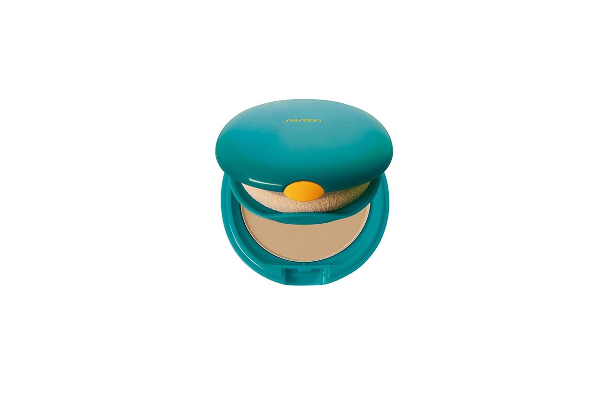 Beauty aereo Shiseido sun compact foundation