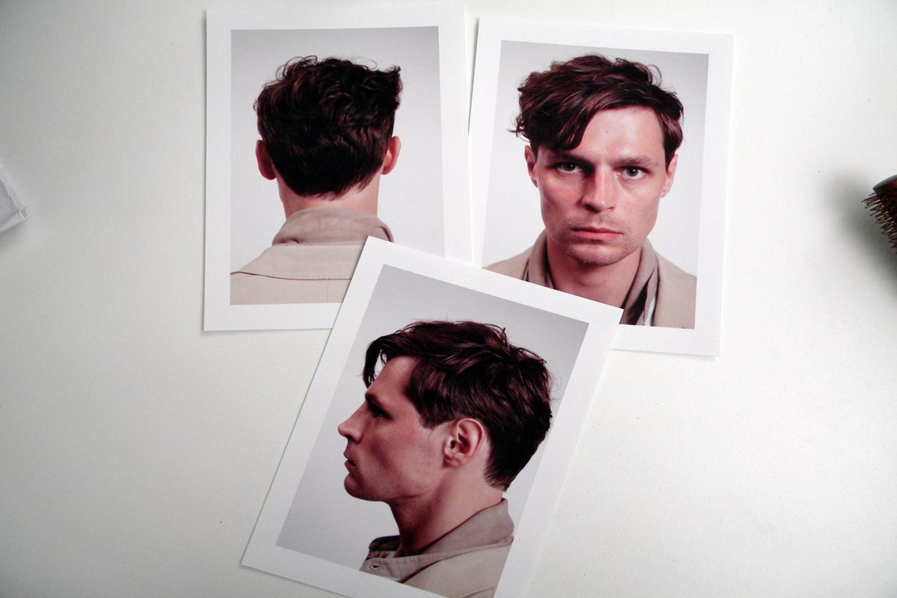 Composit fotografici: tutti i dettagli dell'hair look by Paul Hanlon