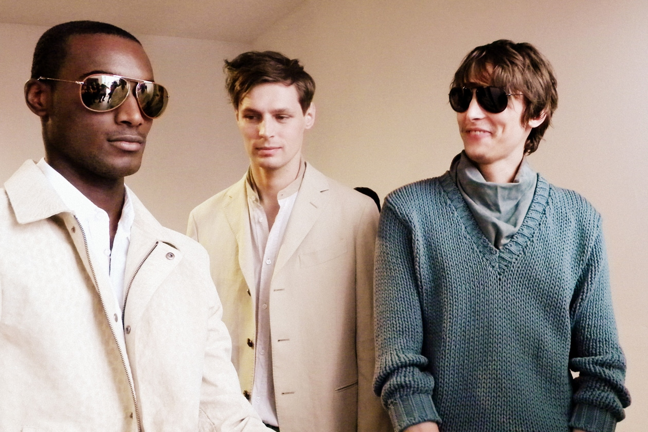 Trussardi Primavera Estate 2014: il backstage hair & beauty
