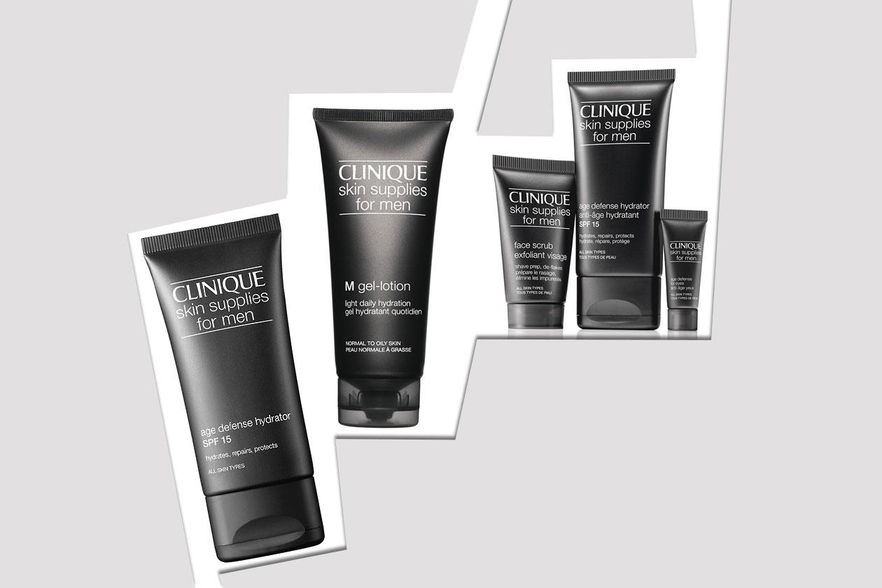 Dalla idratazione alla protezione del viso: è la linea Clinique Skin Supplies For Men