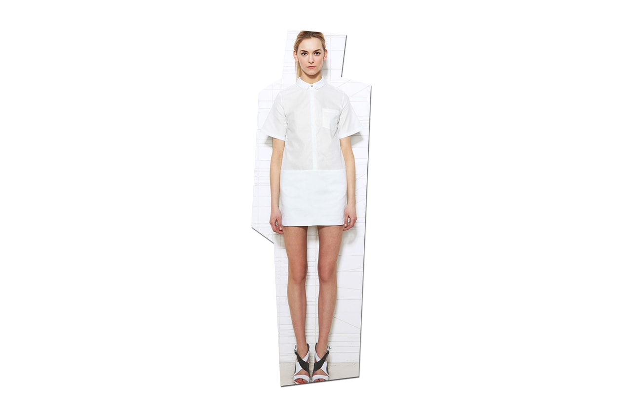 Fashion Shirt dress Richard nicolls