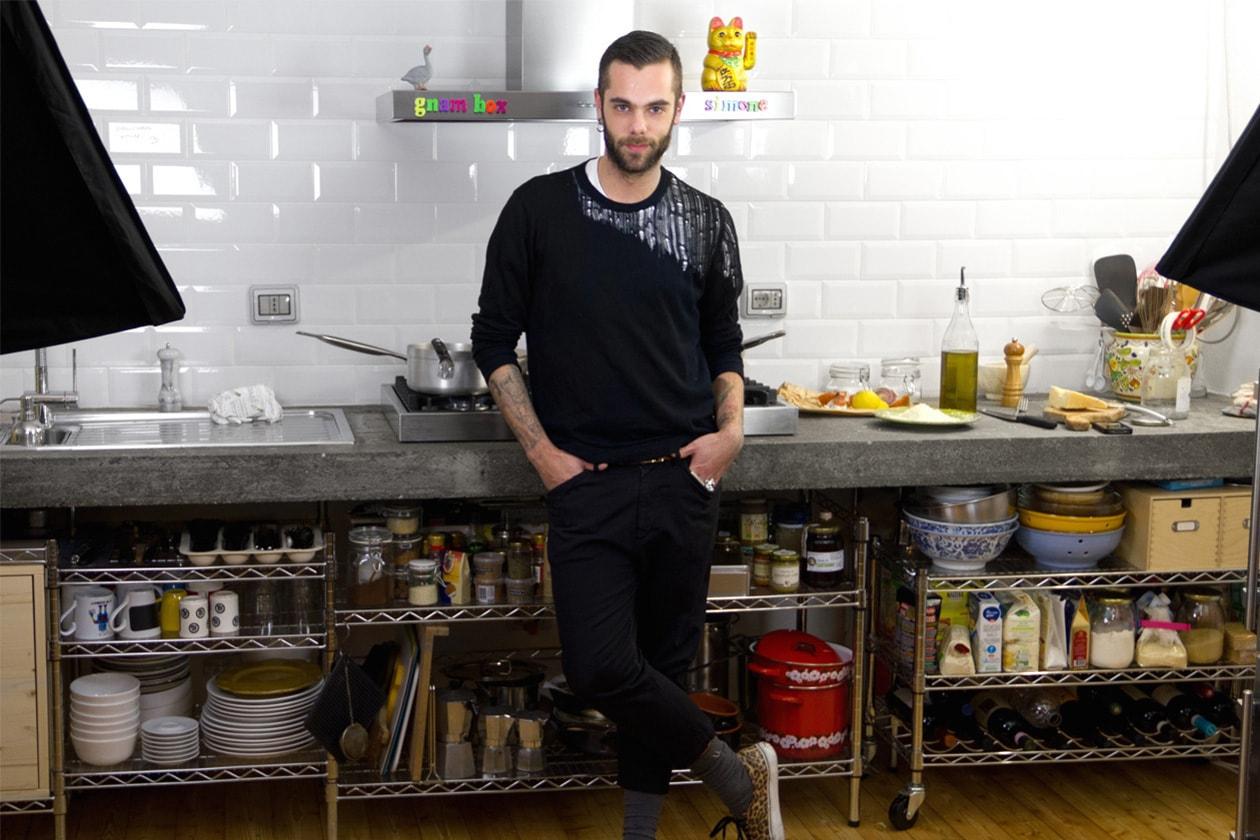 Fashion Simone itboy Simone nella Gnam Box Kitchen
