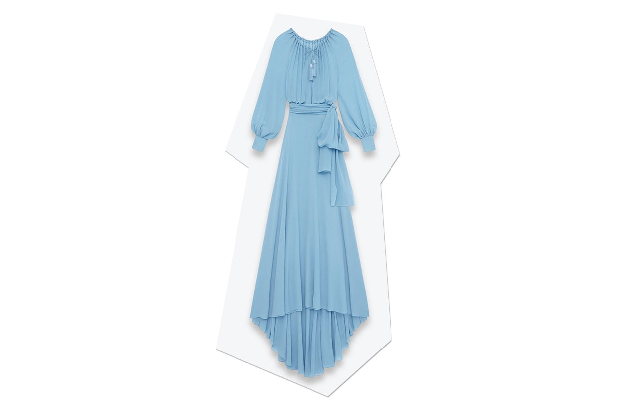 Fashion Top list Sirene Abito YSL seta