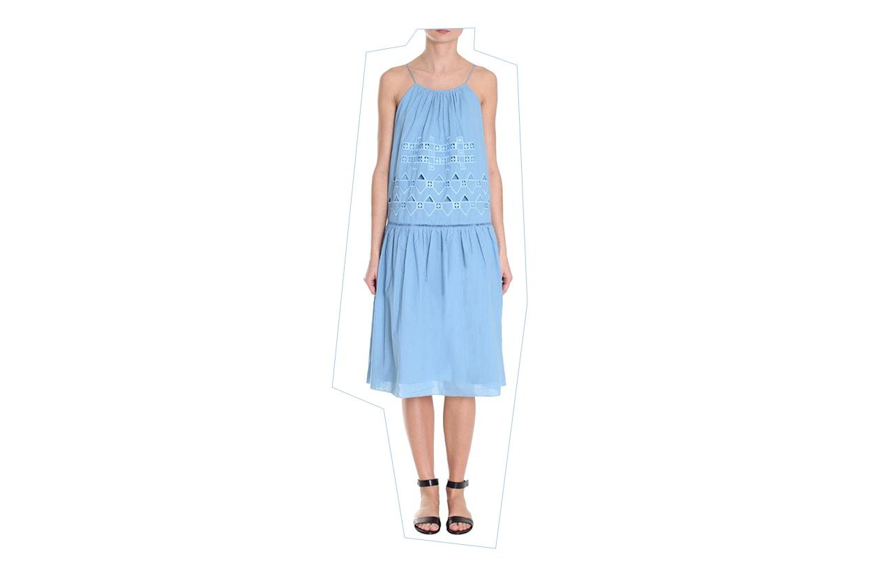 Fashion Top list Sirene Abito ricamato, Tibi NY