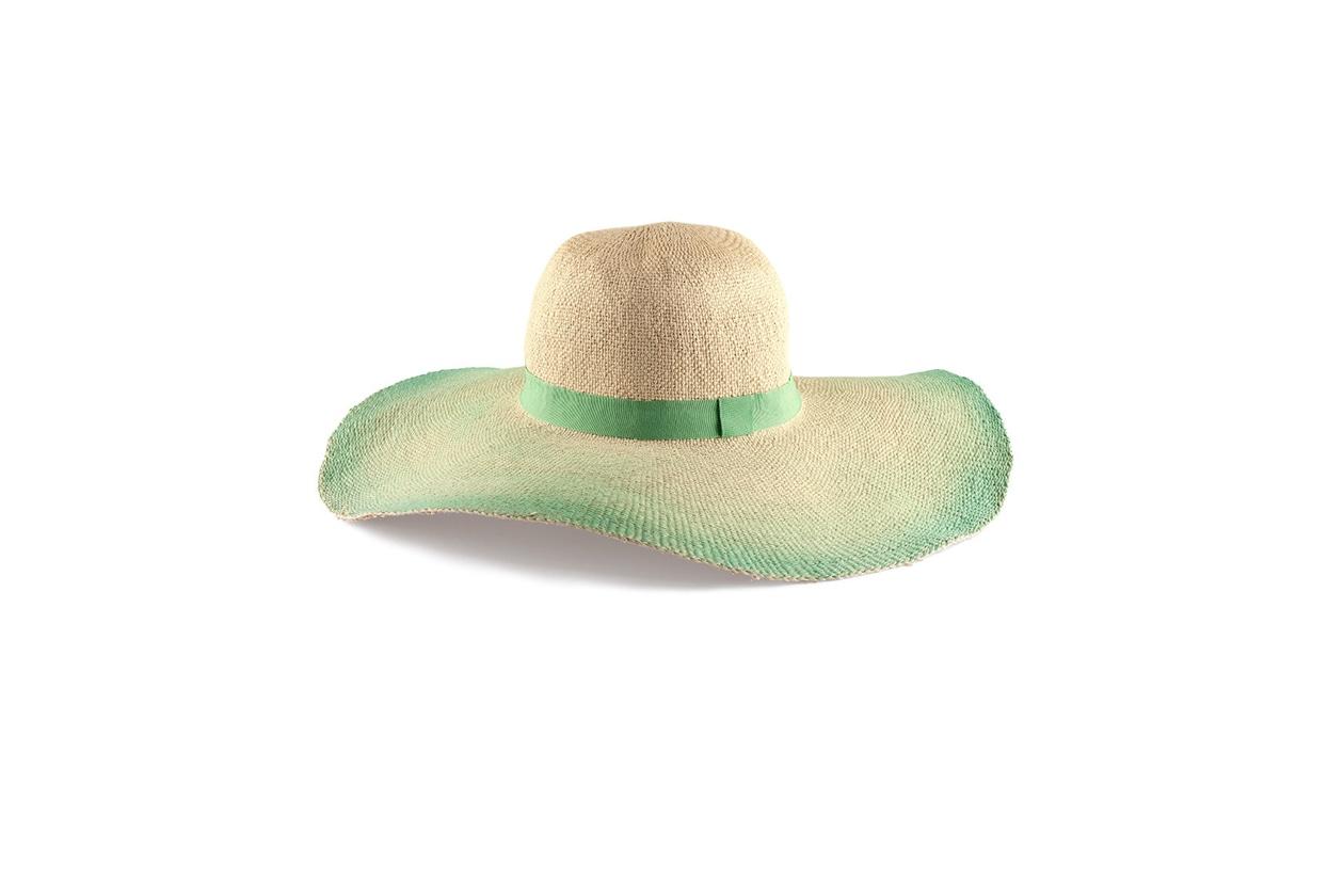 Fashion Top list Sirene Cappello in paglia con profili verdi, H&M