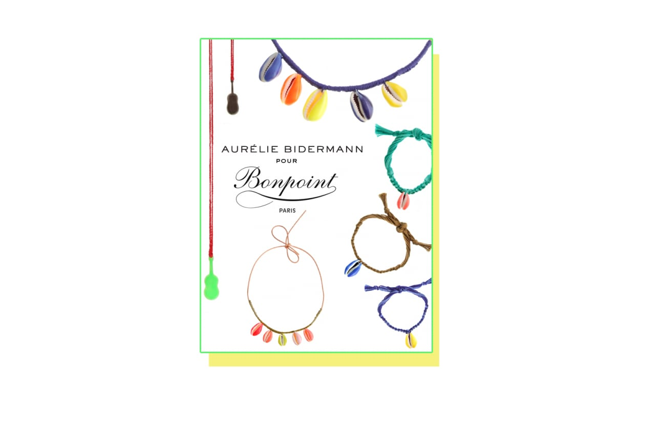 Fashion Top list Sirene I bijoux di Aurelie Bidermann per Bonpoint Paris