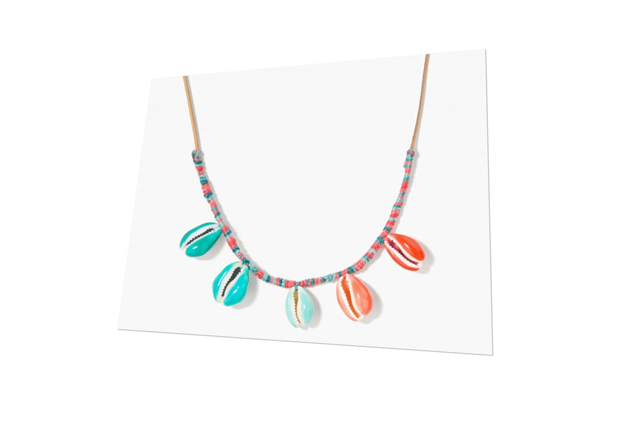 Fashion Top list Sirene Necklace con conchiglie colorate di Aurelie Bidermann