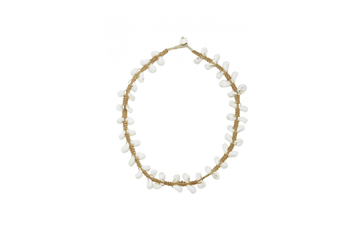 Fashion Top list Sirene Necklace in conchiglie by Figue