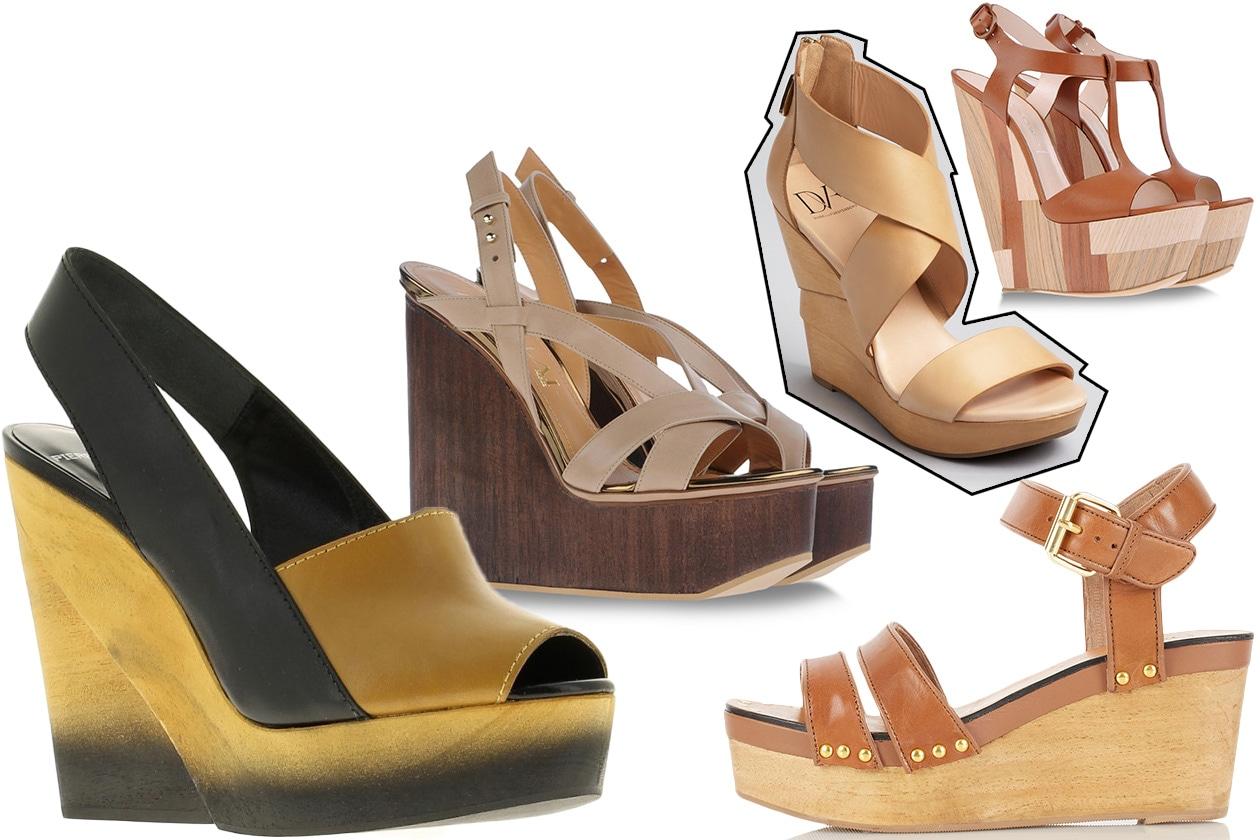 Fashion Zeppe Legno 00