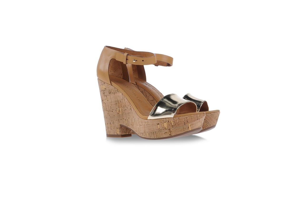 Fashion Zeppe Pelle Sughero see by chloe