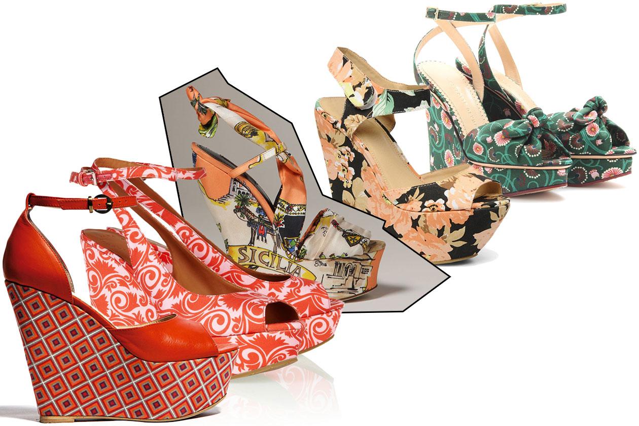 Fashion Zeppe Pelle Tessuto 00