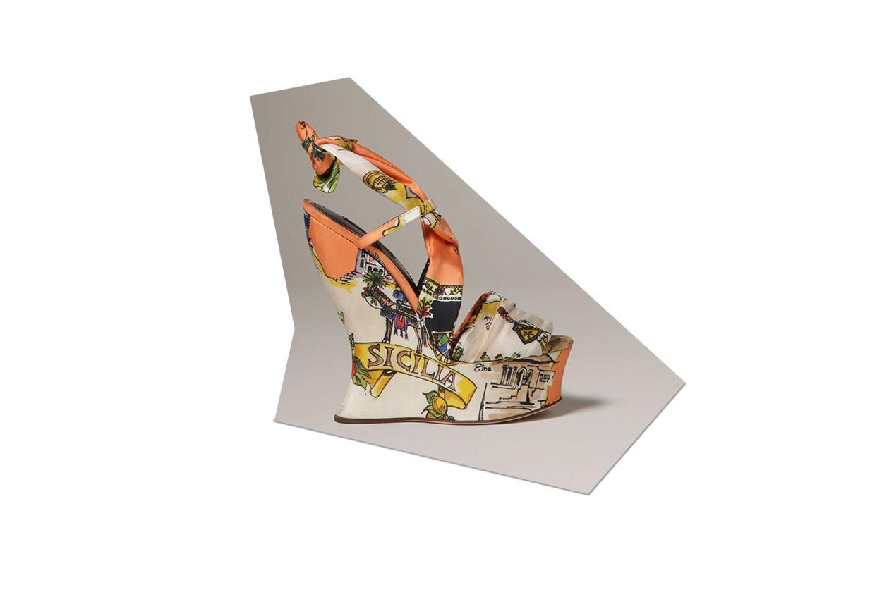 Fashion Zeppe Pelle Tessuto dolce&gabbana