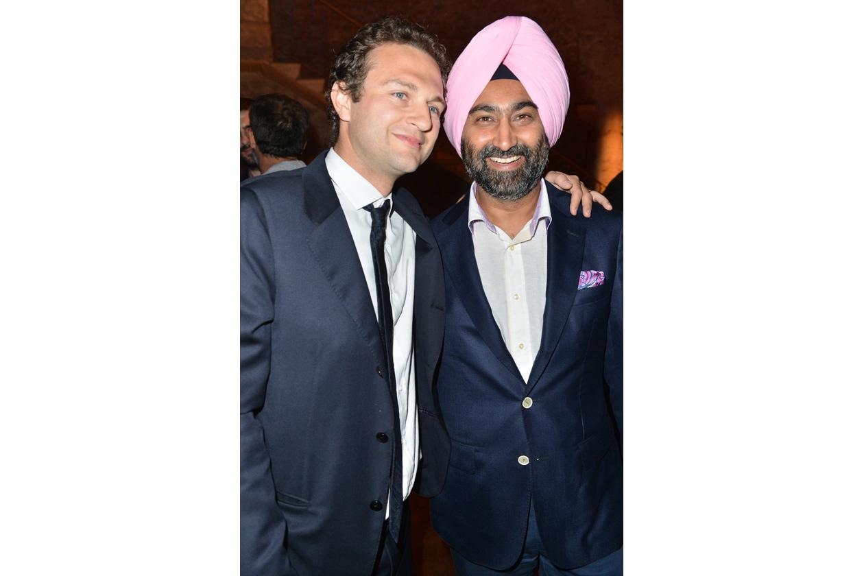 Federico Roveda e Malvinder Singh