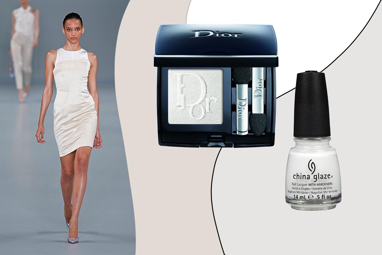 GHIACCIO BOLLENTE: Il bianco cambia pelle e diventa neon per un effetto ghiaccio super brillante (Hugo by Hugo Boss – Dior – China Glaze)