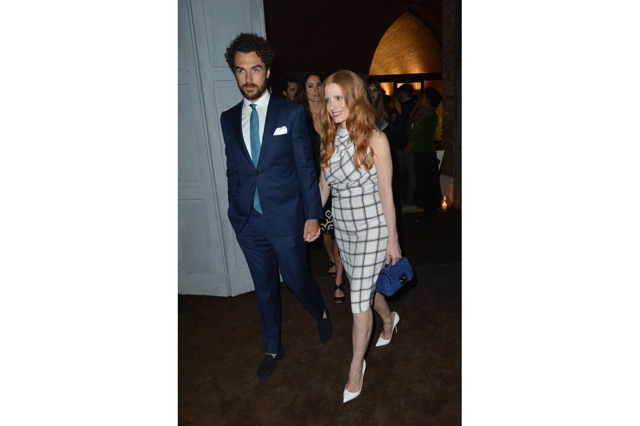 Gianluca Passi e Jessica Chastein
