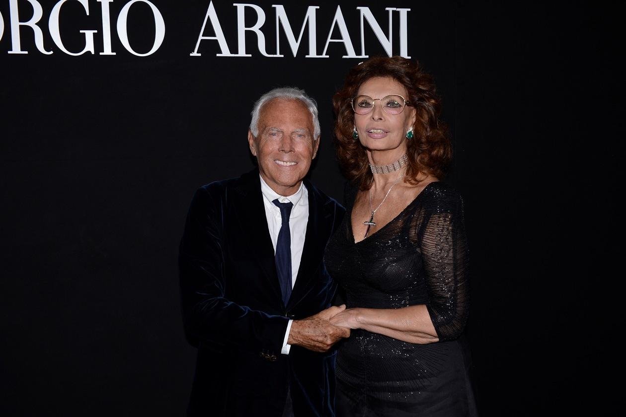 Giorgio Armani Sophia Loren