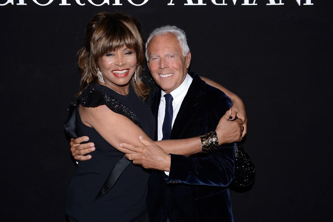 Giorgio Armani Tina Turner