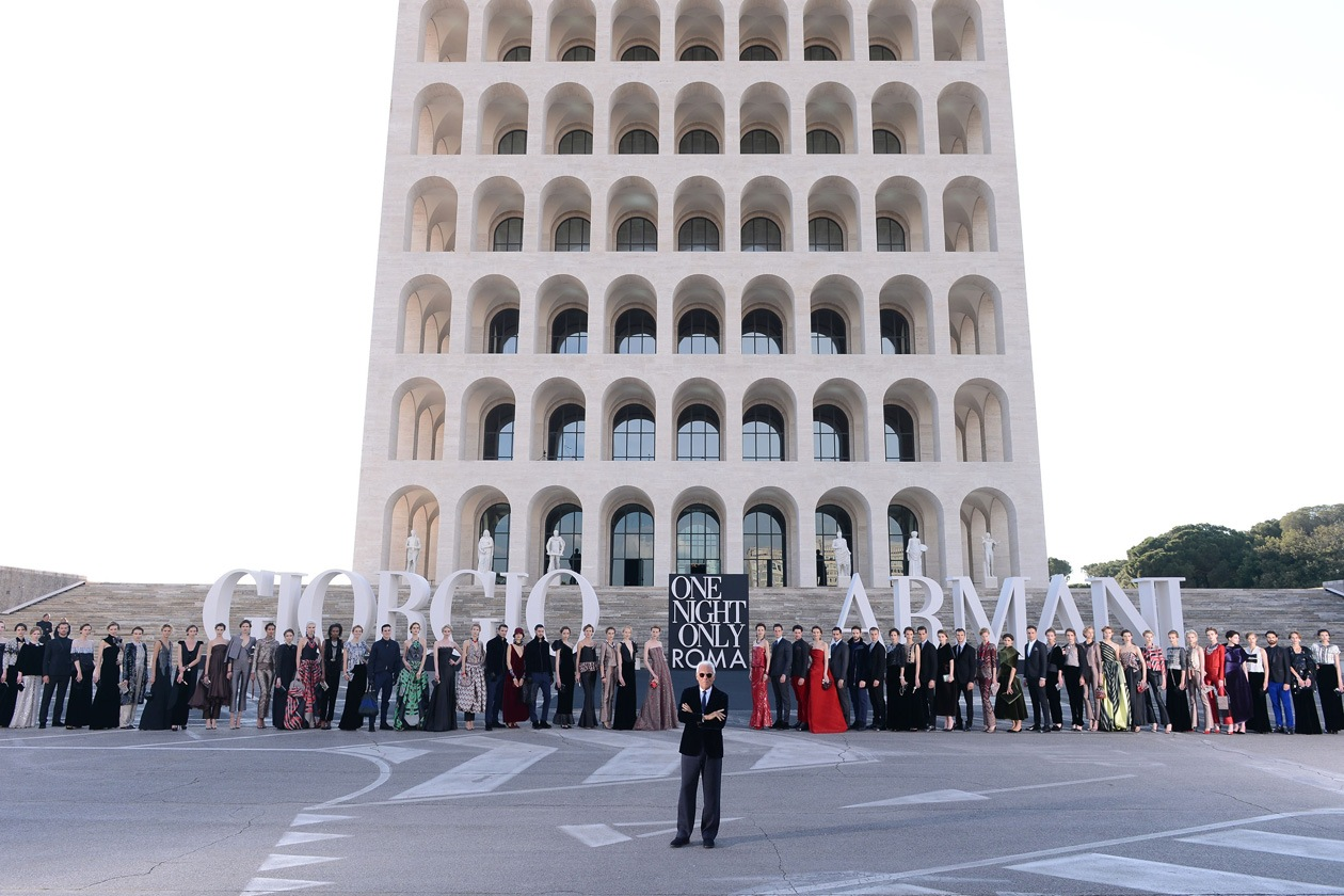 Giorgio Armani models