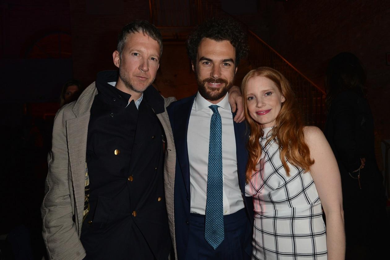 Jefferson Hack, Gianluca Passi e Jessica Chastein